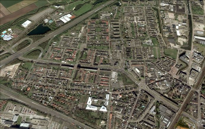 Luchtfoto Westrand in Roosendaal Foto Google Maps