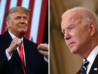 Donald Trump populairder dan Joe Biden in nieuwe poll
