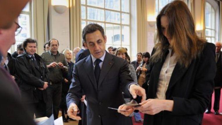 De Franse president Nicolas Sarkozy. ANP Beeld