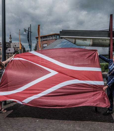 De Liemers heeft eindelijk een eigen vlag (met een knipoog naar de Achterhoek): 'Hopen dat een gevoel van trots gaat overheersen'