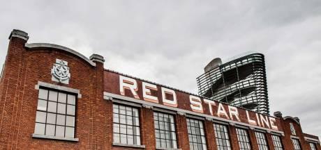 Red Star Line Museum even gesloten door ingestorte muur