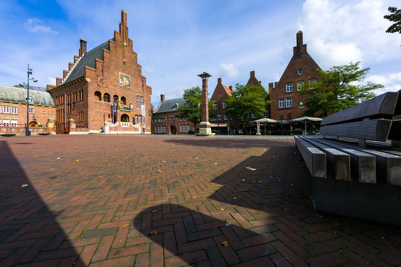 Het Krophollercomplex, met het Huis van Waalwijk als één van de meest prominente gebouwen.