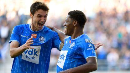 AA Gent ontdoet zich nog voor de pauze van zwak KV Mechelen en rukt op naar vierde plaats