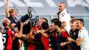 Genoa redt zich op slotspeeldag in Serie A, Lecce degradeert