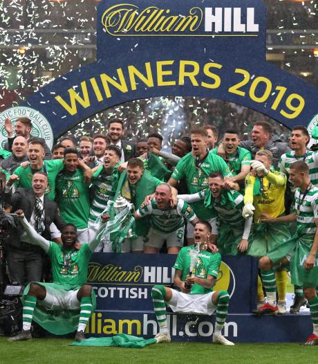 Celtic schrijft historie: derde 'treble' op een rij