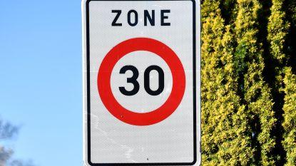Vaartdijk ook in Zemst zone 30