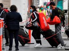 Voorlopig geen training voor alle tennissers Australian Open