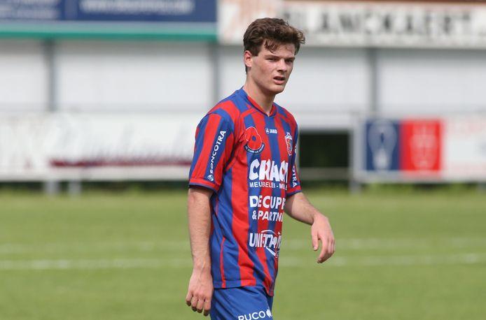 Yentl Dewilde ontpopt zich tot een vaste waarde bij KVK Westhoek.