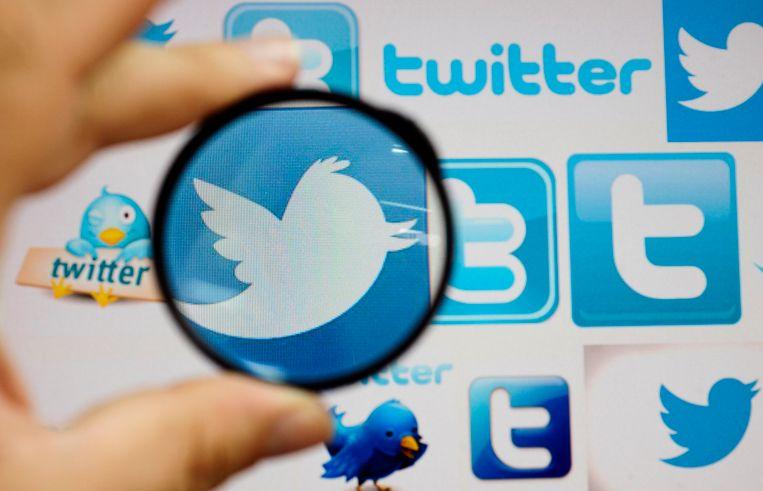 Het logo van Twitter.