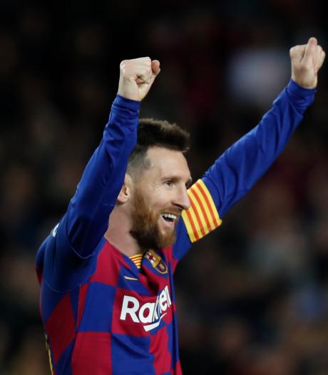 Le Barça reprend la tête grâce au triplé de Messi