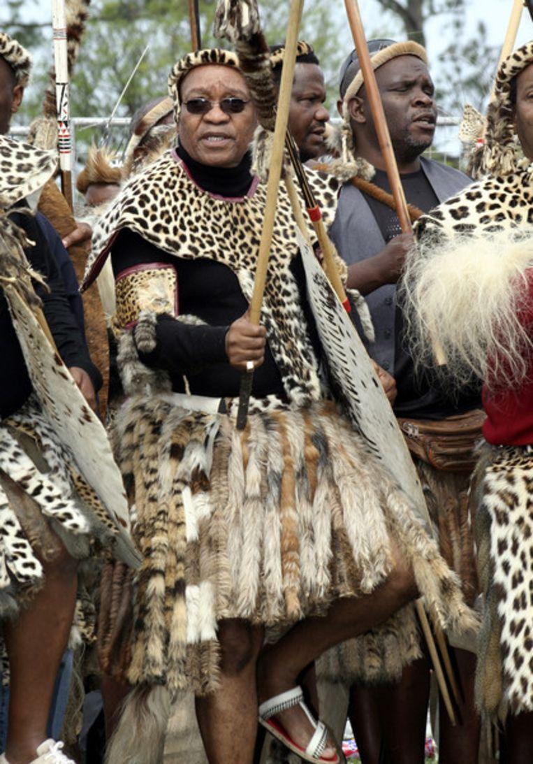 De angstaanjagendste speler van allemaal: Jacob Zuma, thans president. Foto AP Beeld