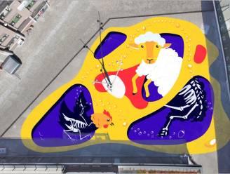 Zo zal 'de Veemarkt' van Mattis en Sven er uitzien
