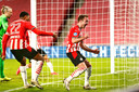 Ook Mario Götze sleepte PSV er als invaller een keer doorheen: op 21 februari zorgde hij met twee goals voor een 3-1 zege.