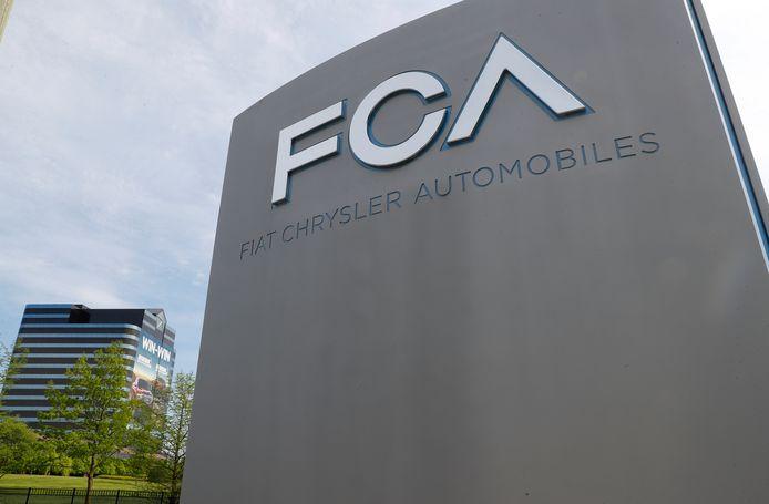 Hoofdkwartier van Fiat Chrysler Automobiles in Michigan.