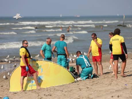 Twee zwemmers overleden nadat ze in zee bij Zuiderstrand in de problemen waren gekomen