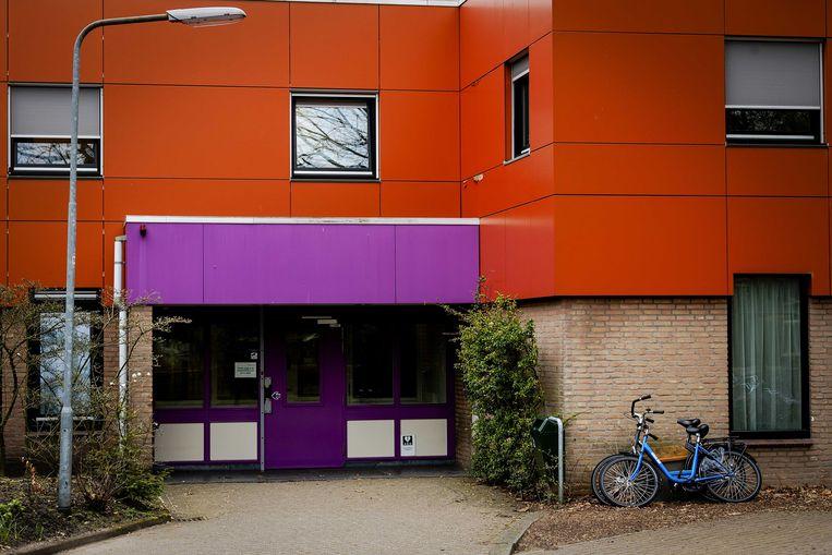 Een exterieur van de forensisch psychiatrische kliniek FPA Utrecht (voorheen Altrecht Aventurijn) waar Michael P. in een forensisch psychiatrische afdeling zat. Beeld ANP