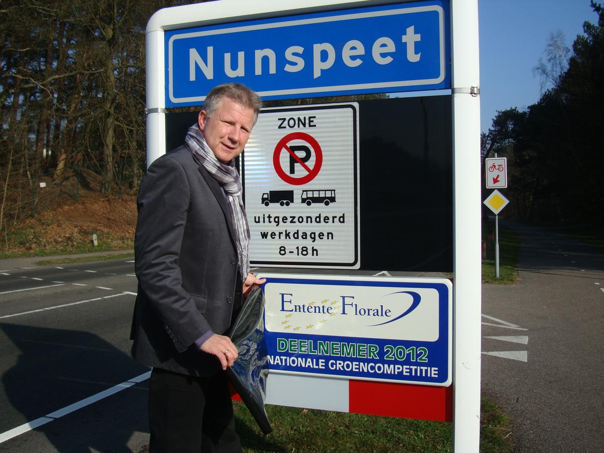 Wethouder Gert van den Berg.