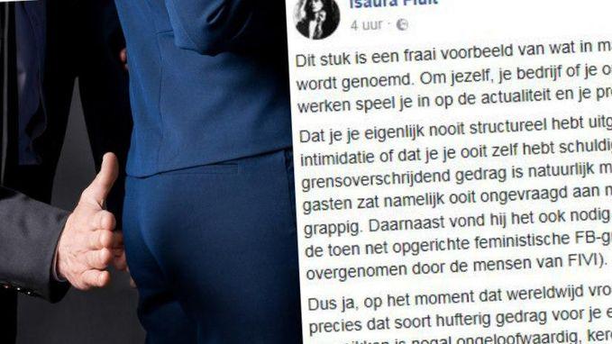 Vlaamse Twitteraar die het in post opneemt voor vrouwen had zélf weleens losse handjes