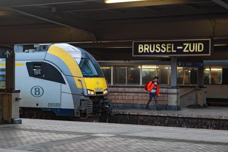 Brussel-Zuid. Beeld BELGA