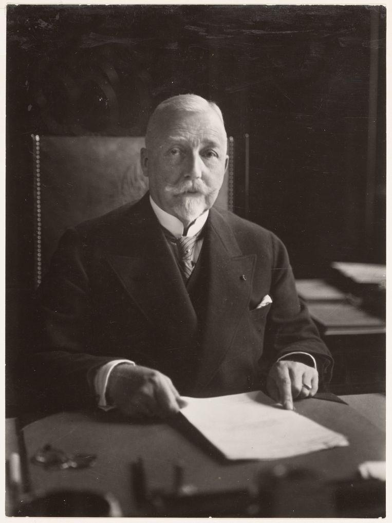 Burgemeester Willem de Vlugt (1872-1945). Beeld Stadsarchief