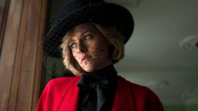 Kristen Stewart in de film Spencer. De release staat gepland voor eind 2021.