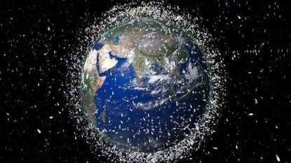 Europa bouwt ruimtestofzuiger die grote afvalhoop rond de aarde moet terugdringen