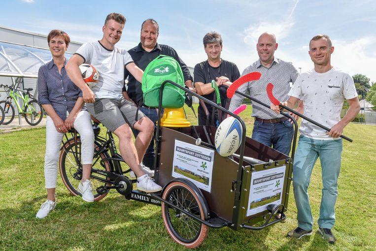 ZOTTEGEM met fietskar sport promoten.