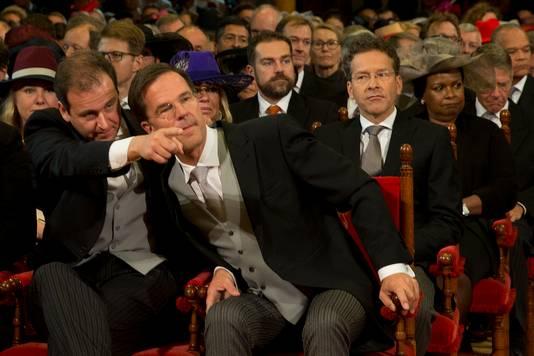 Vicepremier Lodewijk Ascher en premier Mark Rutte.