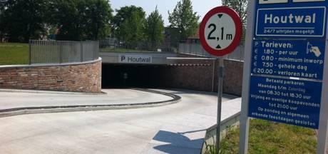 Ook in weekend gratis parkeren in Houtwalgarage Harderwijk