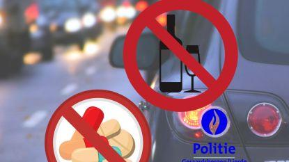 Drugsdealer loopt tegen de lamp bij verkeerscontrole: 500 euro boete