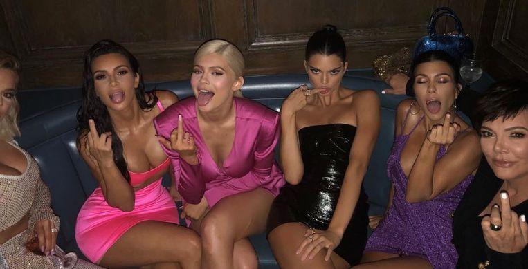Het verjaardagfeest van Kylie Jenner.