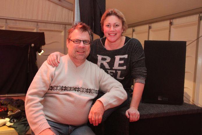 Dirk Bauters en Vanessa Chinitor.
