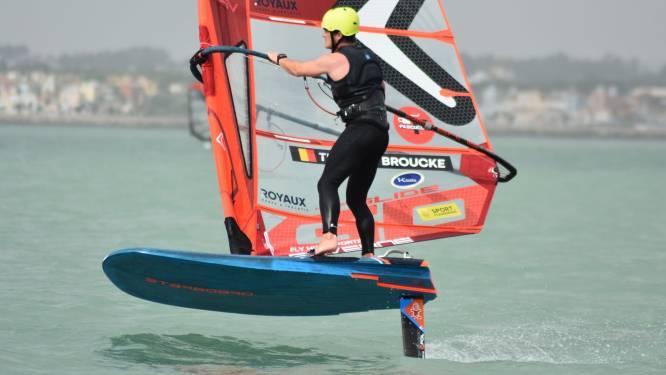 Vierde plaats voor Bredense windsurfer Thomas Broucke op de Andalusian Olympic Week