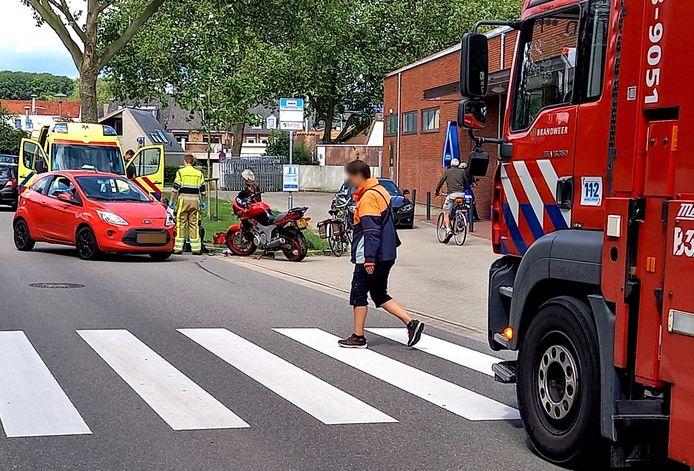 Het ongeluk in Groesbeek.