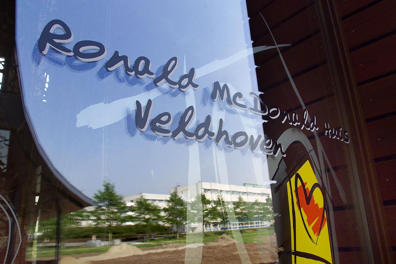 Het Ronald McDonald Huis in Veldhoven.