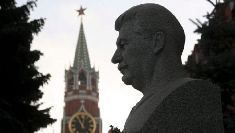 De kleinzoon van Josef Stalin heeft de rechtzaak die hij tegen de krant Novaja Gazeta aanspande, verloren. Foto ANP Beeld