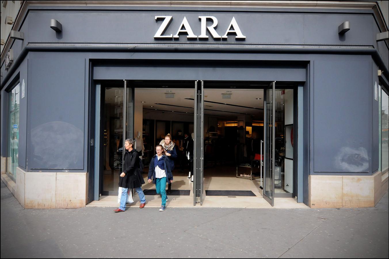 De vrouwen sloegen telkens toe in filialen van Zara. (illustratiebeeld)