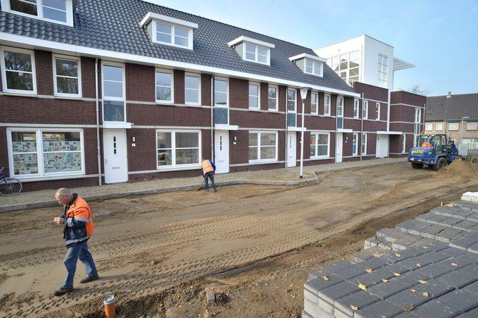 Nieuwbouwwoningen in Helmond.