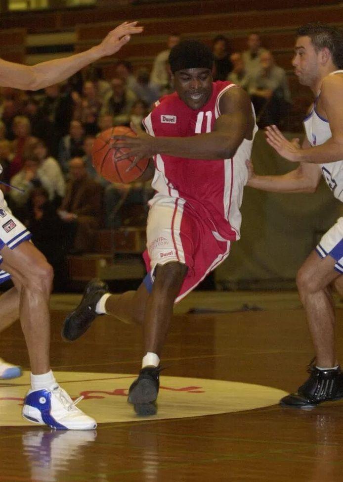 Jeff Masudi (39) toen hij nog voor Willebroek speelde.