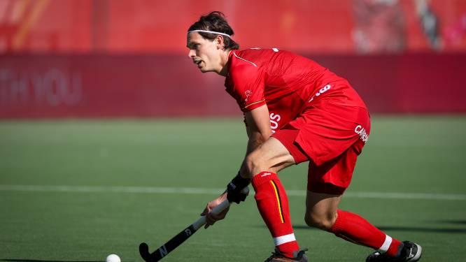 """Red Lions winnen eerste oefenduel tegen Argentinië, met vlaggendrager Felix Denayer: """"Ik ga mijn best doen ze niet te laten vallen"""""""