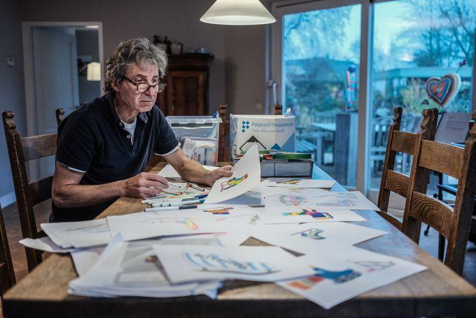 Maarten van der Geest ontwerpt acht objecten die kenmerkend zijn voor Duiven.