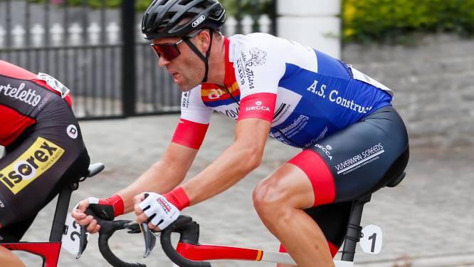 """Kevin Van Impe spurt in Veurne naar zijn tweede zege van het seizoen: """"In een kleine groep is de snelheid er nog altijd"""""""