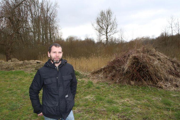 Pieter Abts van Natuurpunt.