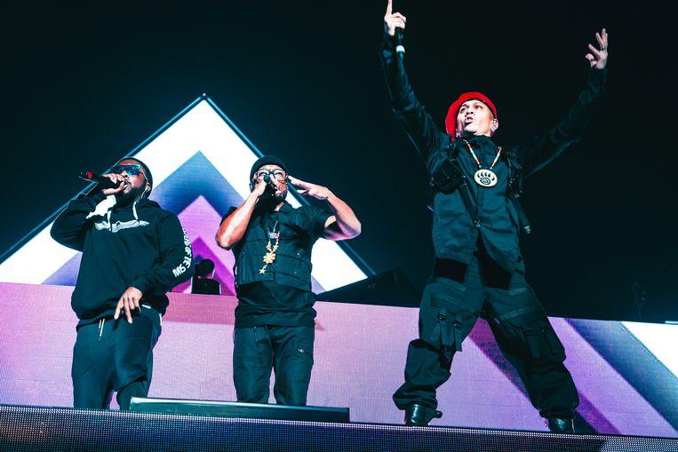Black Eyed Peas in Vorst. Beeld Illias Teirlinck