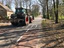 Smalle wegen in 't Mun in Schaijk
