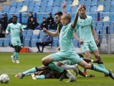 Gemengde gevoelens bij Holmén: 'Hadden moeten winnen, maar het is wel Vitesse, hè...'