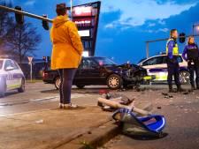 Flinke schade na ongeval in Apeldoorn