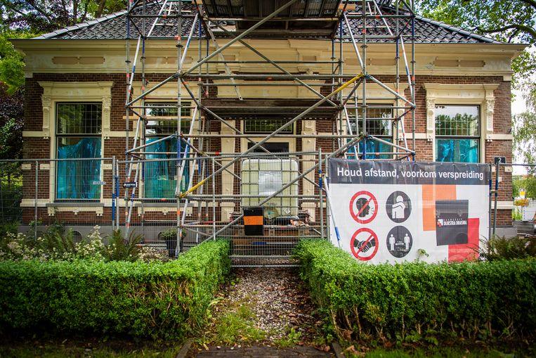 Schade te Loppersum.   Beeld Hollandse Hoogte / Anjo de Haan