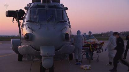 Frankrijk gebruikt helikopters om coronapatiënten te vervoeren