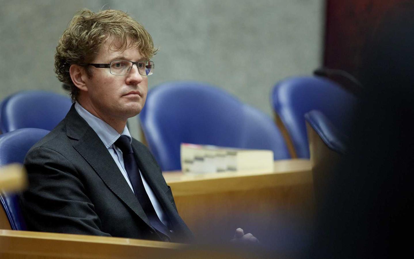 Staatssecretaris Sander Dekker (Onderwijs).